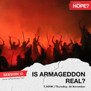 Is There Hope - Session 12