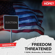Is There Hope - Session 11