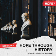 Is There Hope - Session 9