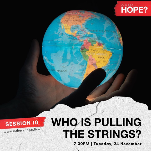 Is There Hope - Session 10