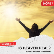 Is There Hope - Session 14
