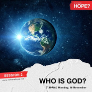 Is There Hope - Session 2