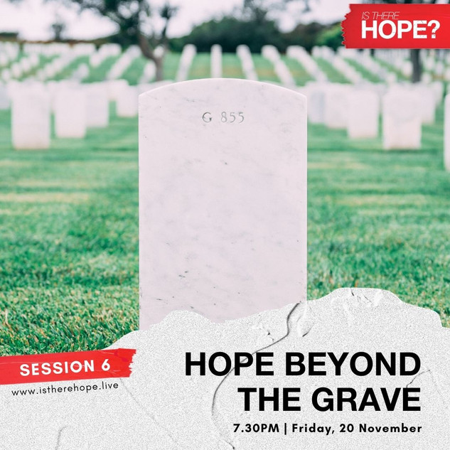 Is There Hope - Session 6