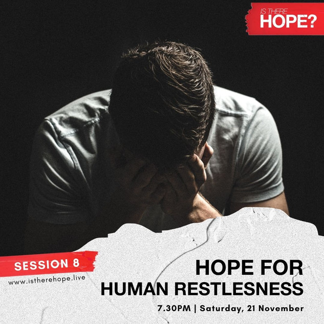 Is There Hope - Session 8
