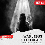 Is There Hope - Session 5