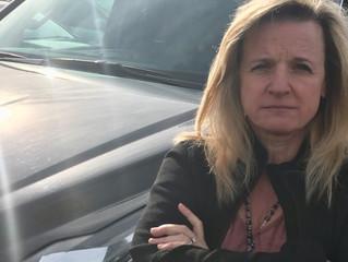 A Chauffeur's Death, A Widow's Drive