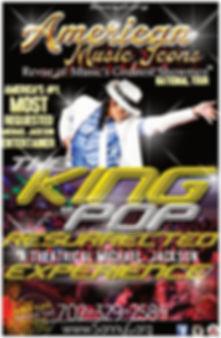 2019 National Tour MJ Poster