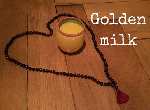 Golden leaves, golden milk