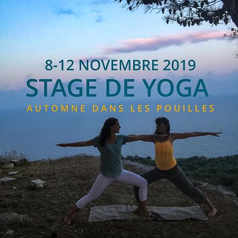 Yoga dans les Pouilles - automne 2019