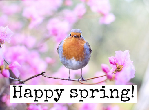 Happy spring & Happy International Happiness Day! :-)