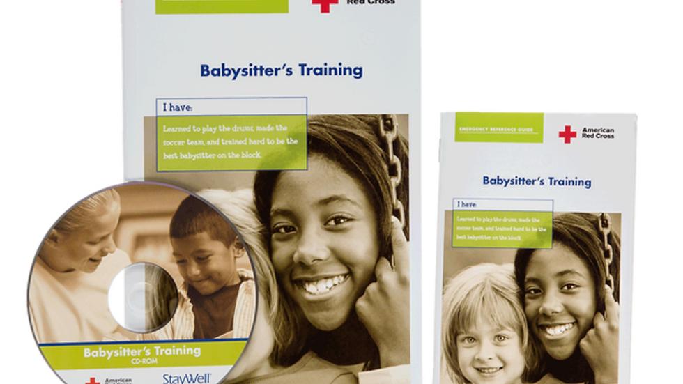 Babysitter's Training Booklet + DVD