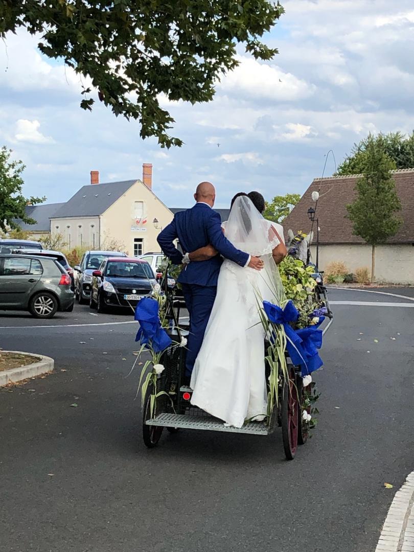 calèche mariage