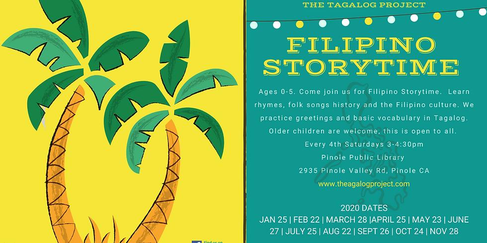 Filipino Storytime #11 March 28