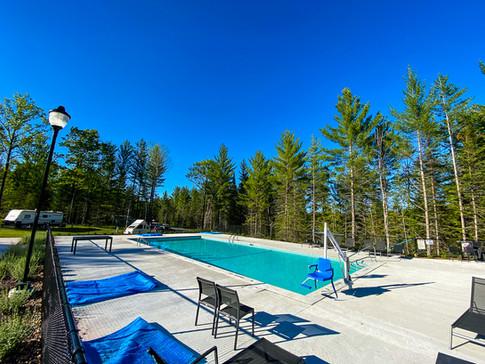 Splash in the pool & hot tub
