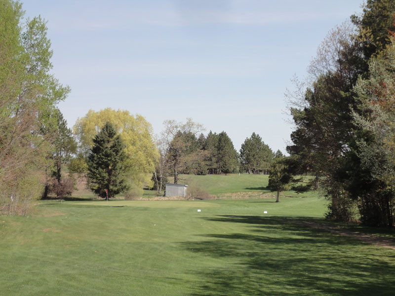Hole 7 at The Pines