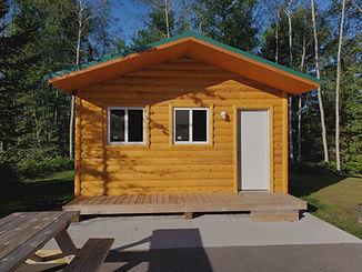 Cabin at cedar valley campground