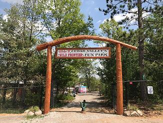 Visit Cedar Valley's Wild Frontier Amusement Park