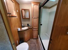 Rentable RV Bathroom