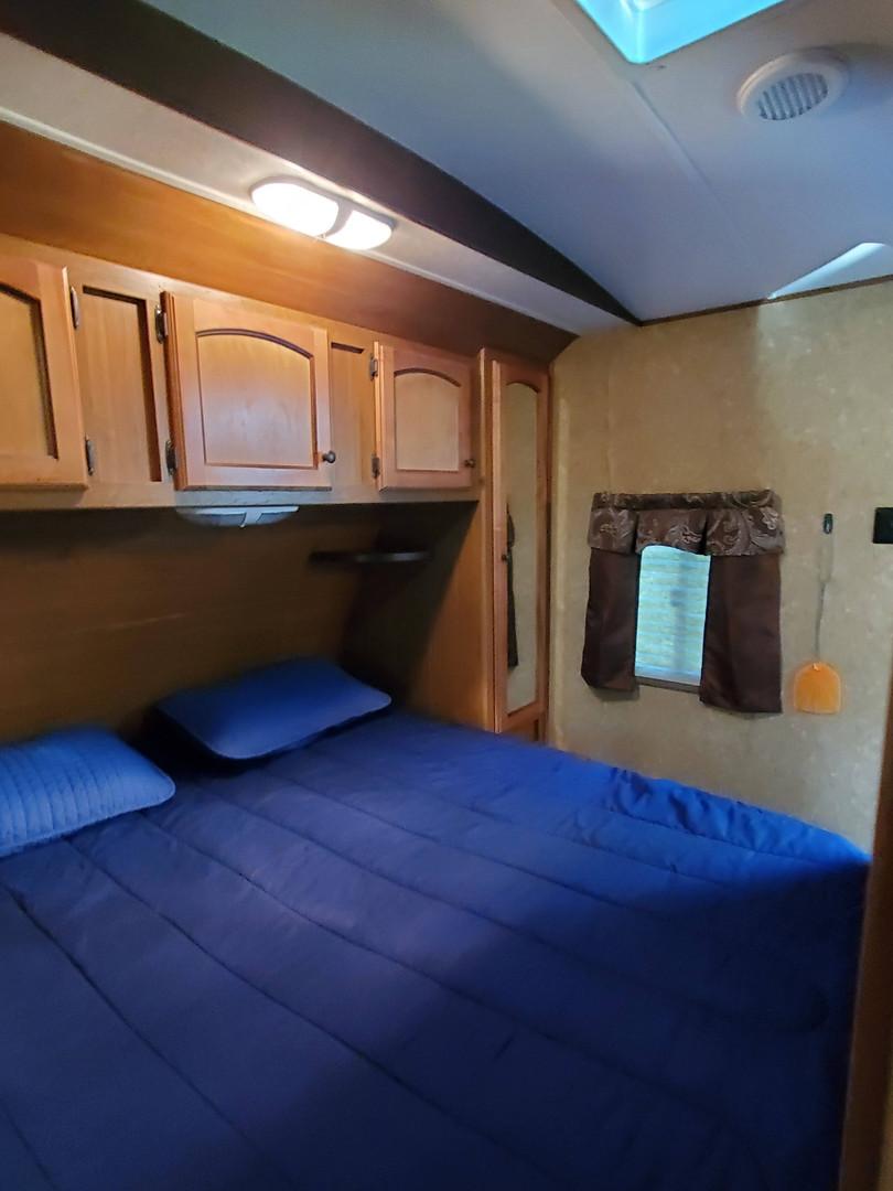Rentable RV Bedroom