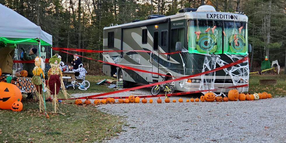Halloween at Cedar Valley Campground