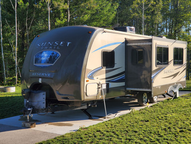 Rent an RV at Cedar Valley Campground