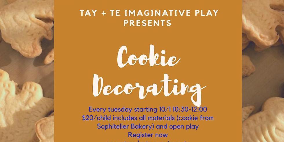 Cookies Decorating (Oct 1st)
