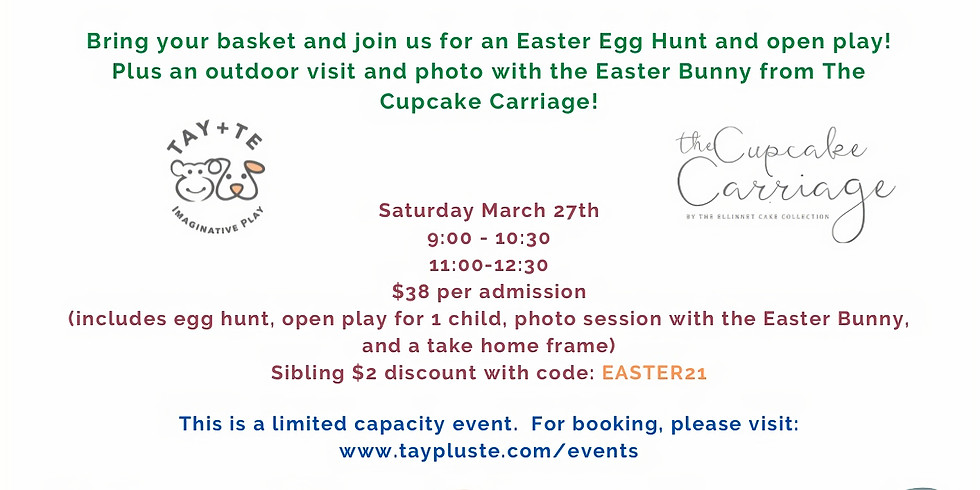 Easter Event (11:00am - 12:30pm)
