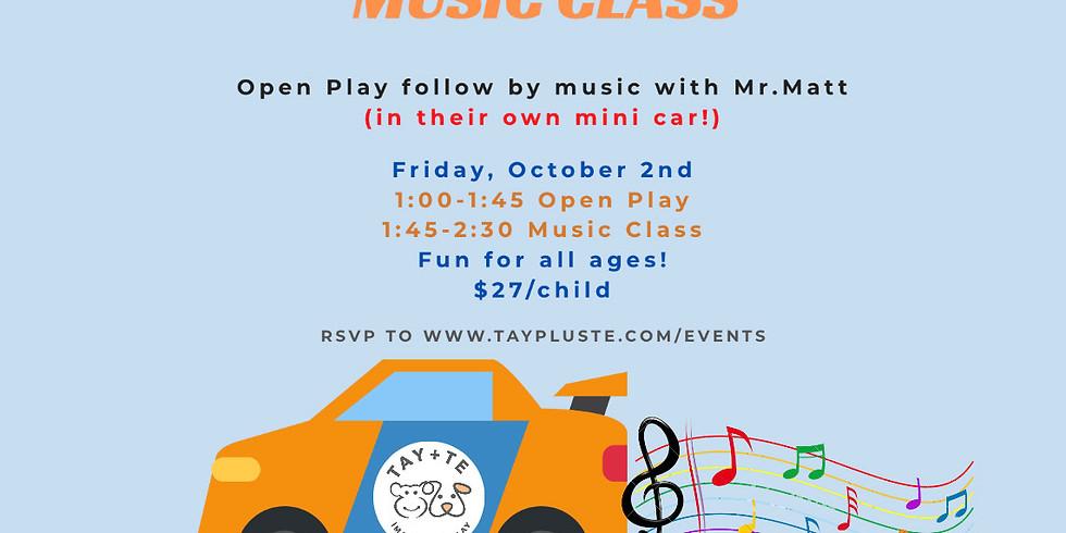 Mr. Matt Drive-In Music Class