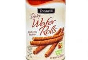 Tonnelli Wafer Roll-Hazelnut