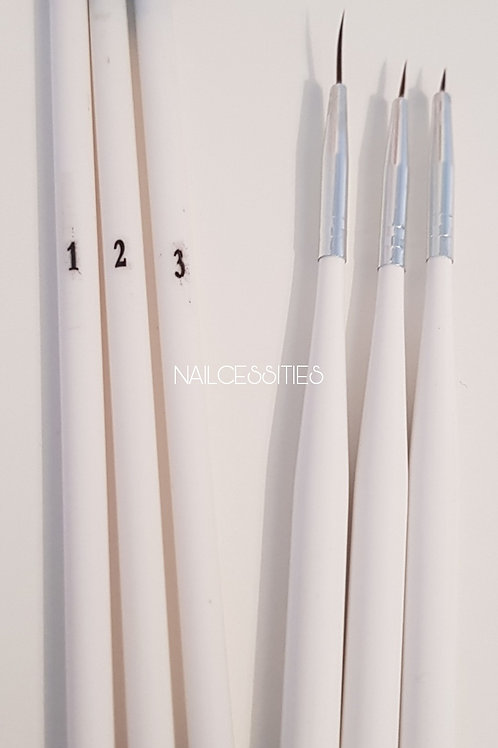 Nail Art Brushes x6
