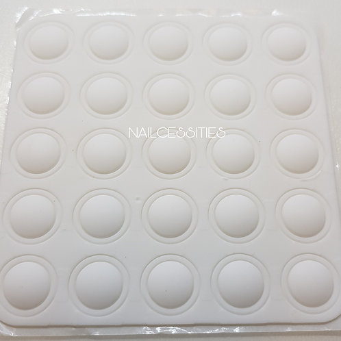 Gel Bottle Lid Stickers