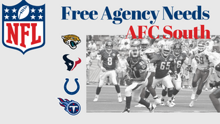 Free Agency Needs: AFC South