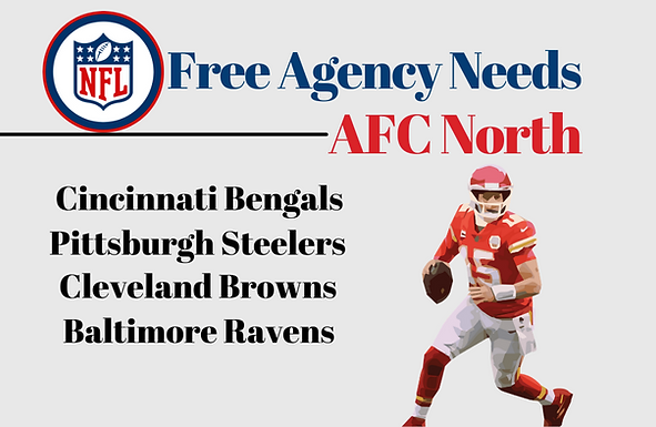 Free Agency Needs: AFC North