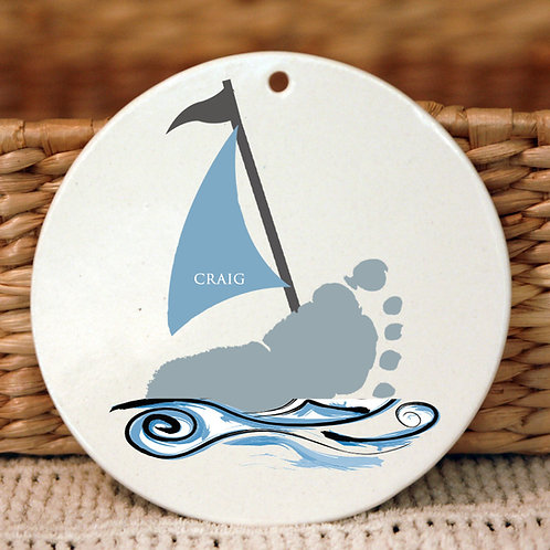 Boat Ornament