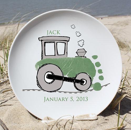 Train Plate