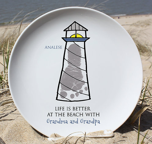 Lighthouse Plate