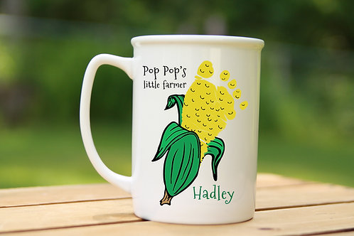 Corn Footprint Mug