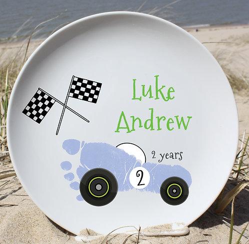 Racecar Plate