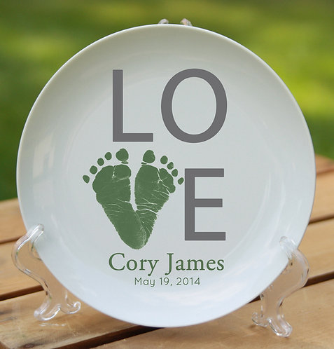 Love Simple Plate