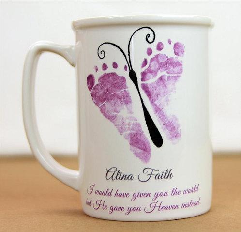 Butterfly Memory Mug