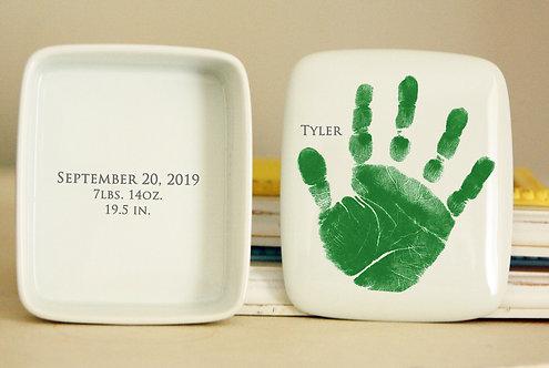 Handprint Keepsake Box