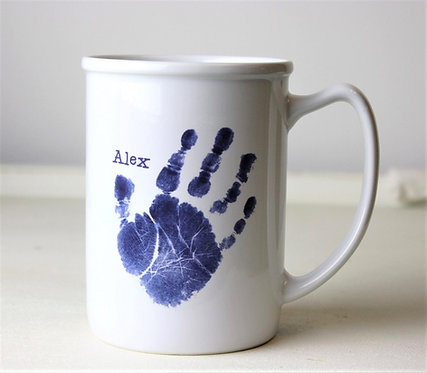 Hand/Footprint Mug