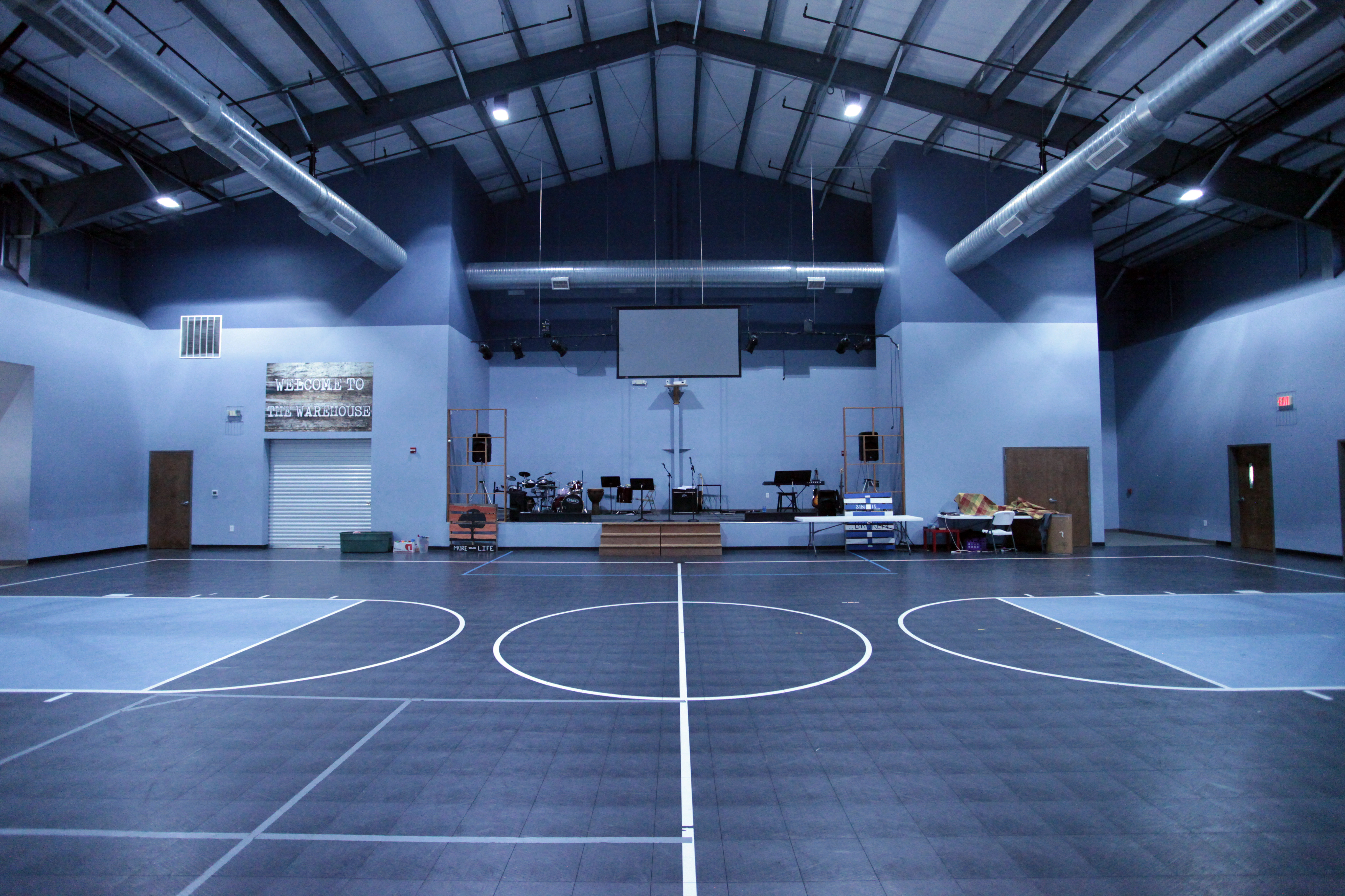 Gymnasium Stage