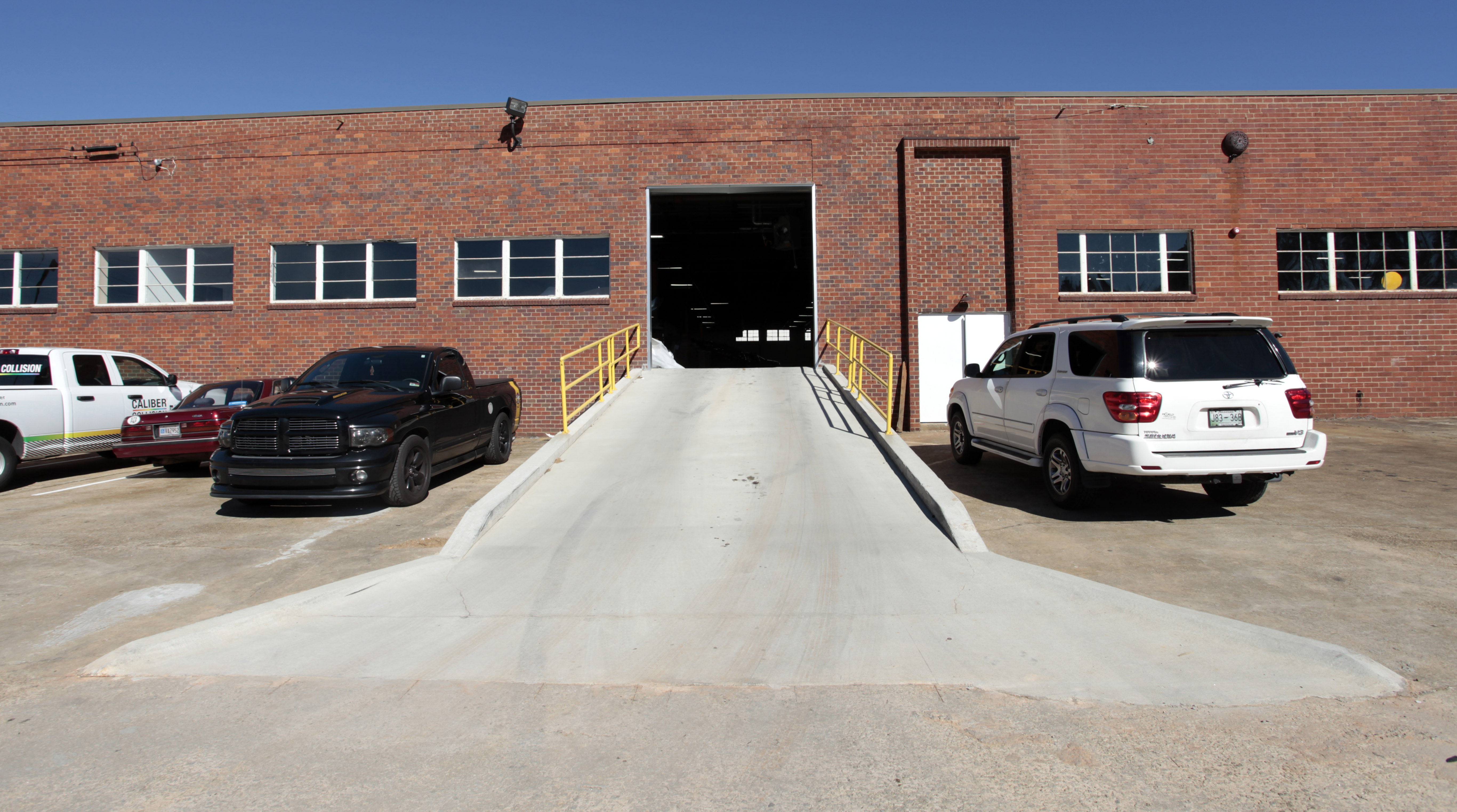 Side Entry Ramp