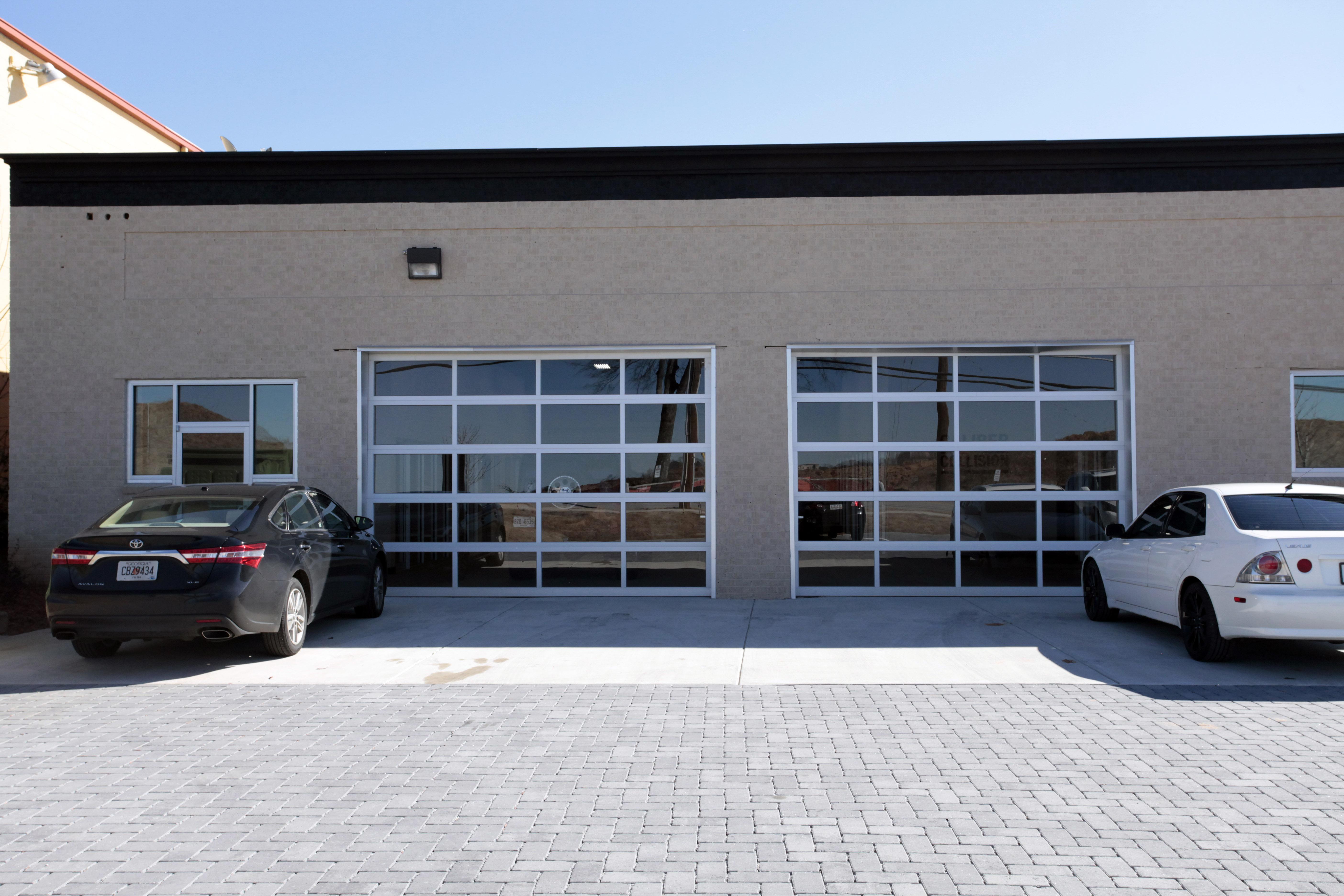 Garage Customer Front Entry