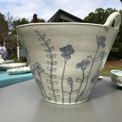 Julie Wiggins_floral basket