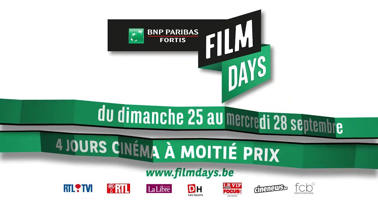 BNP PARIBAS FORTIS FILMS DAYS