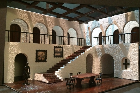 House of Bernarda Alba Model