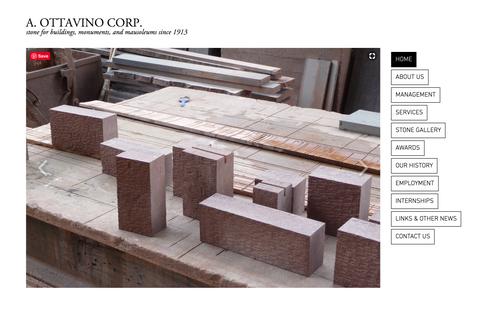 Ottavinostone.com Website Design