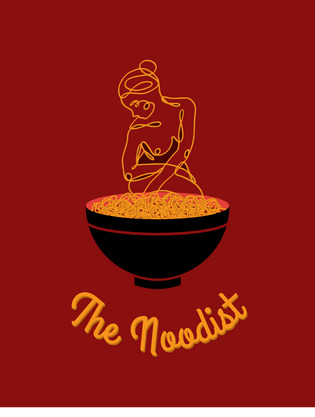 The Noodist Branding (mockup)